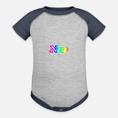 New Age New gift idea new age new year t-shirt - Baby Contrast One Piece