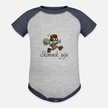 Steal stealing subs - Baseball Baby Bodysuit