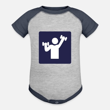 Fitness fitness - Contrast Baby Bodysuit