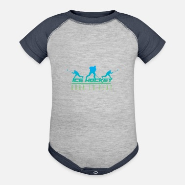 Hockey Team Ice Hockey Team - Baseball Baby Bodysuit