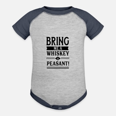 Whiskey Whiskey - Baseball Baby Bodysuit