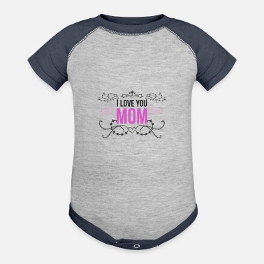 Connectedness Mom - Baseball Baby Bodysuit