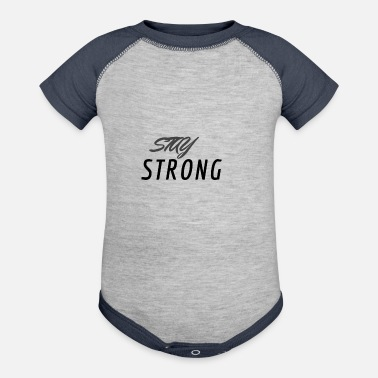 STAY STRONG - Baseball Baby Bodysuit