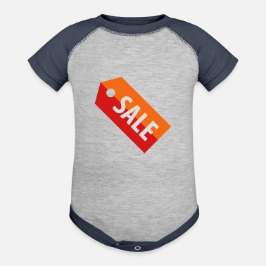 Tag Sale Tag - Baseball Baby Bodysuit