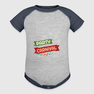carnival gift party ferris wheel drunk confetti - Baby Contrast One Piece