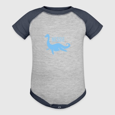 Nessie, The Loch Ness Monster - Baby Contrast One Piece
