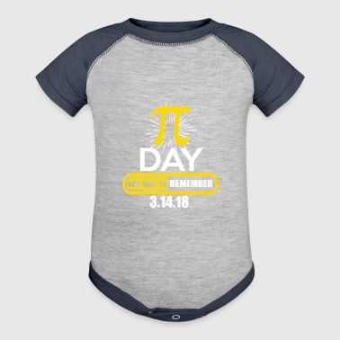Pi Day - Baby Contrast One Piece