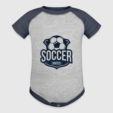 Soccer United - Baby Contrast One Piece