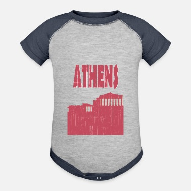 Athens ATHENS City - Contrast Baby Bodysuit