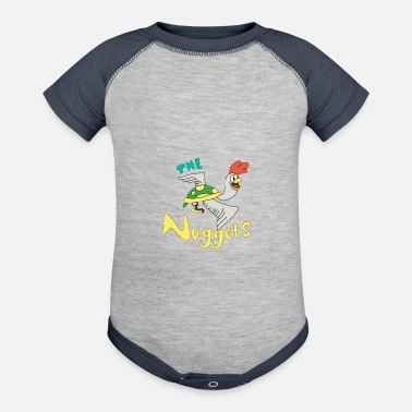Nugget The Nuggets - Contrast Baby Bodysuit
