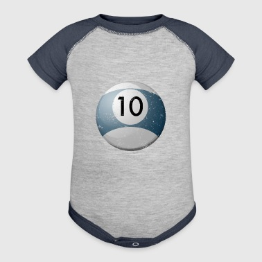Custom Billiard Balls 10 Billiard Table Balls - Baby Contrast One Piece