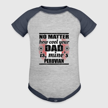 no matter dad cool vater gift Peru png - Baby Contrast One Piece
