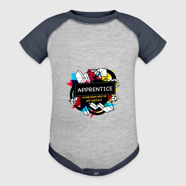 APPRENTICE - Baby Contrast One Piece