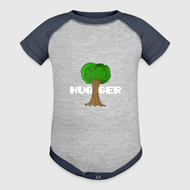 Beautiful Nature Tree Tshirt Design Hugger Tree lover Nature Lover - Baby Contrast One Piece