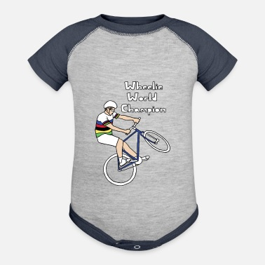 World Champion wheelie world champion - Baseball Baby Bodysuit
