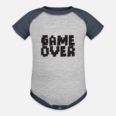 Game Over GAME OVER - Contrast Baby Bodysuit