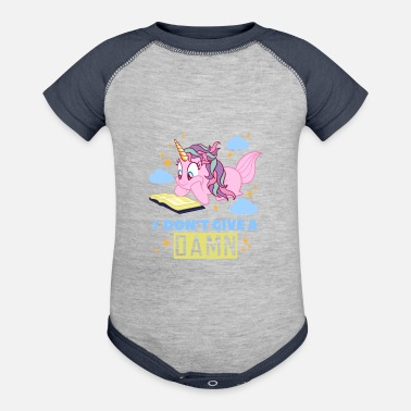 Witty Witty Unicorn - Baseball Baby Bodysuit