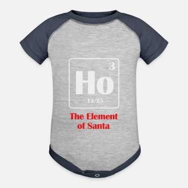 the element of santa - Baseball Baby Bodysuit