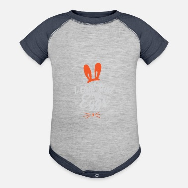 Easter Bunny Easter easter bunny gift - Contrast Baby Bodysuit