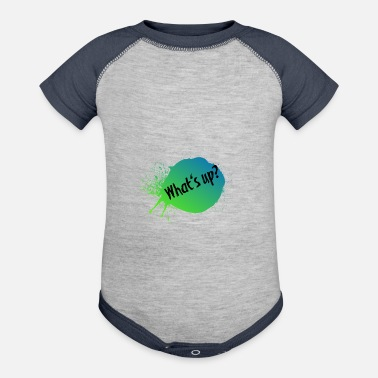 What's up? - Contrast Baby Bodysuit