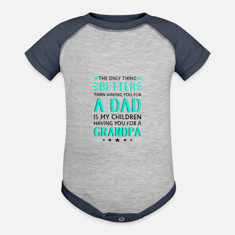 Fathers Day Gifts Grandpa Pregnancy Announcement Contrast Baby