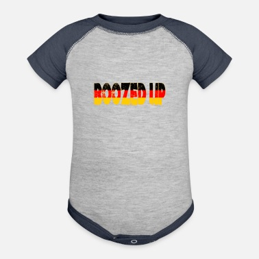 Boozed Up Funny German Oktoberfest Beer Festival Design For Beer Lovers And Beer Drinkers - Baseball Baby Bodysuit