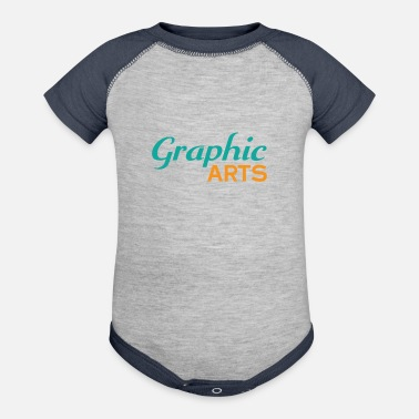 Graphic Art Graphic Arts - Contrast Baby Bodysuit