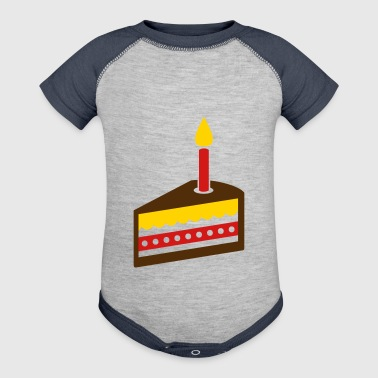 Cake - Baby Contrast One Piece