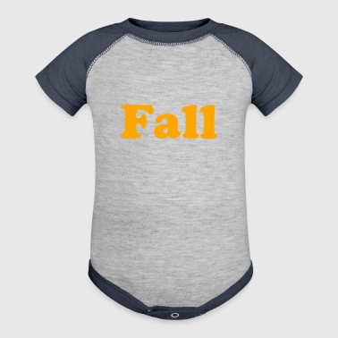 Fall - Baby Contrast One Piece