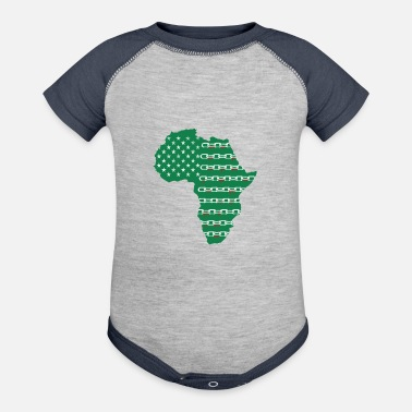 African American African American - Contrast Baby Bodysuit