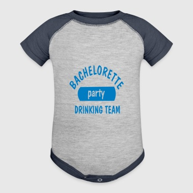 Bachelorette party drinking team - Baby Contrast One Piece
