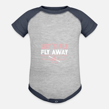 Plane Plane Pilot flying clouds Travel - Contrast Baby Bodysuit
