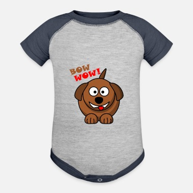Bow Wow Bow Wow - Baseball Baby Bodysuit