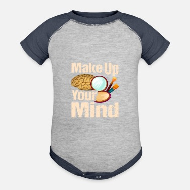 Undecided Make Up Your Mind, Amusing Puns, Undecided Bad - Contrast Baby Bodysuit