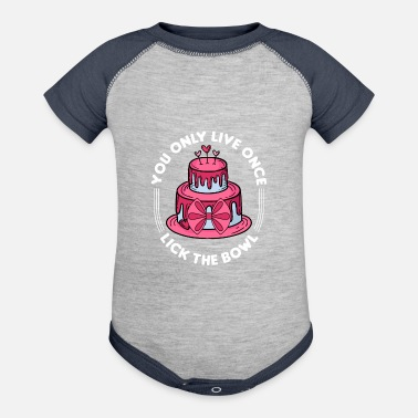 Tooth Baker Gifts for cake lover with a sweet tooth & - Baseball Baby Bodysuit