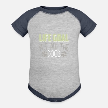 Dogs Dog - Contrast Baby Bodysuit