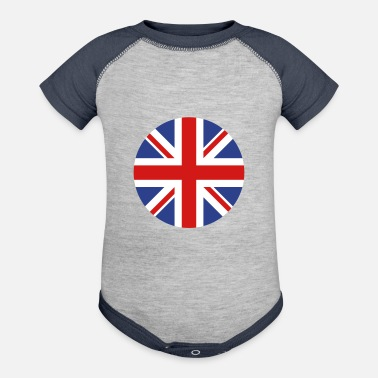 United Kingdom United Kingdom - Baseball Baby Bodysuit