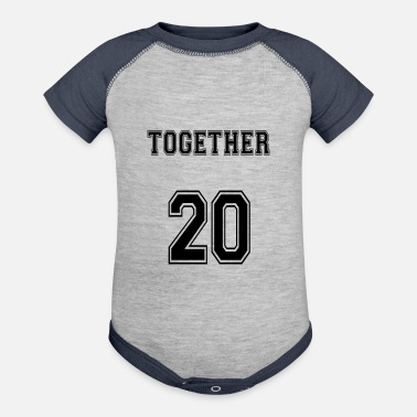 Married Couple Married. Couple. Love. Wedding - Baseball Baby Bodysuit