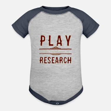 Playing Play - Contrast Baby Bodysuit
