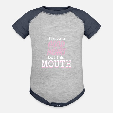 Mouth this mouth - Contrast Baby Bodysuit