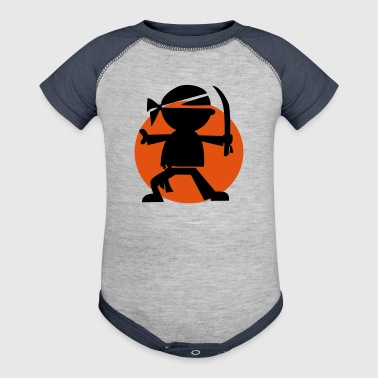 Ninja Martial Arts  - Baby Contrast One Piece