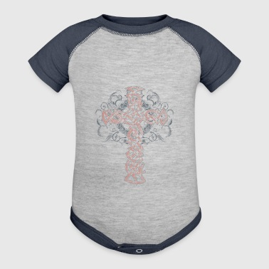 cross - Baby Contrast One Piece