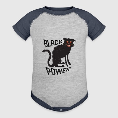 Black Power - Baby Contrast One Piece