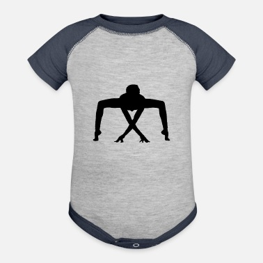 Exercise exercise - Baseball Baby Bodysuit