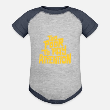 Pay To pay attention - Baseball Baby Bodysuit