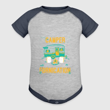 Camper Fornication for campers - Baby Contrast One Piece