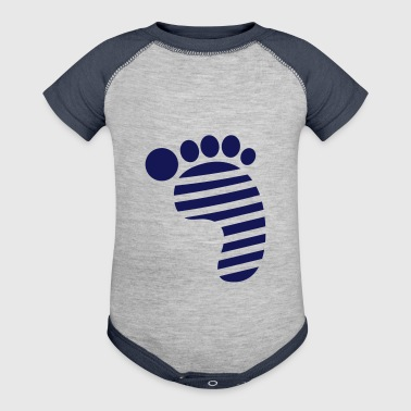 FOOT - Baby Contrast One Piece