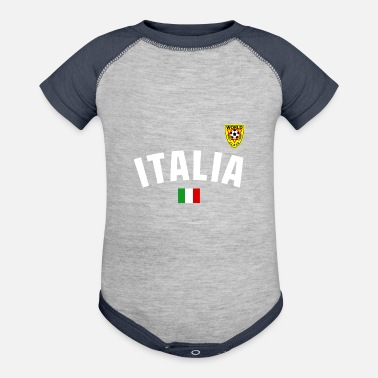 Italy Italy National Football - Contrast Baby Bodysuit
