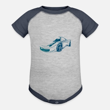 Care Caring - Baseball Baby Bodysuit