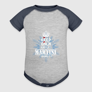 MARTINI T Shirt - Baby Contrast One Piece